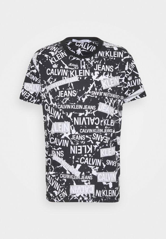 LOGO TEE UNISEX - T-Shirt print - black