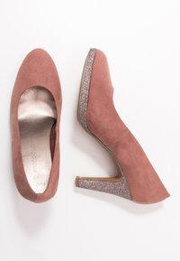 Marco Tozzi - COURT SHOE - Zapatos altos - old rose - 3
