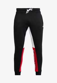 Tommy Sport - GRAPHIC LOGO CUFF - Tracksuit bottoms - black - 4