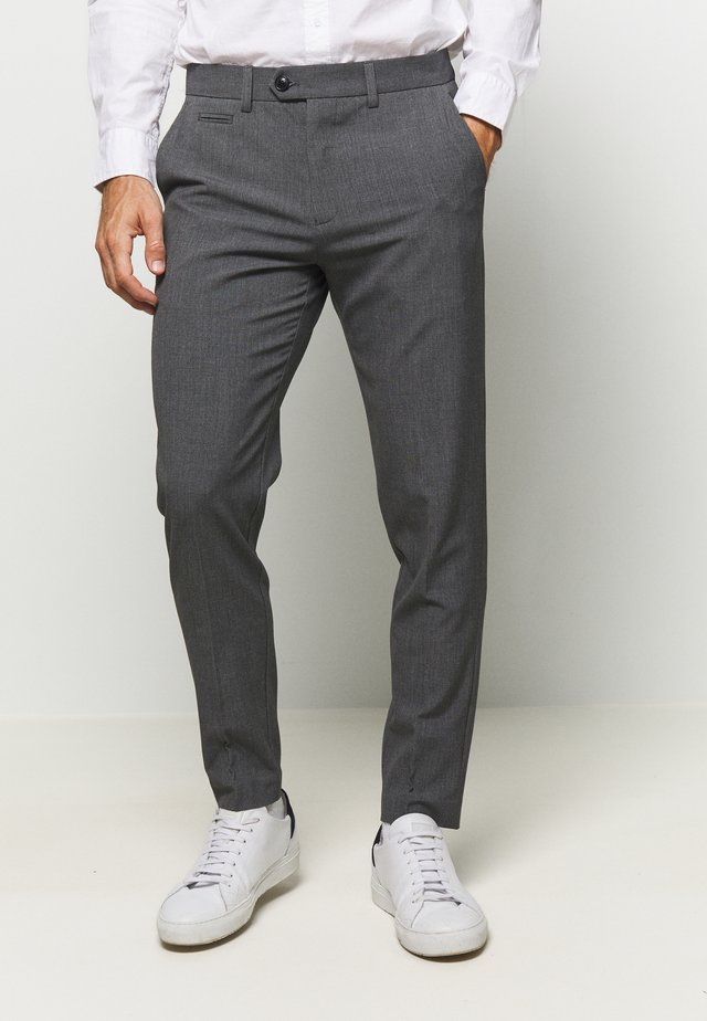 CLUB PANTS - Trousers - grey mix