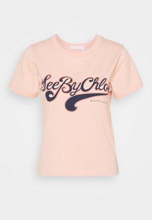 T-shirt con stampa - perfect peach