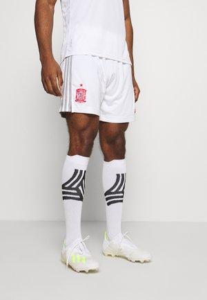FEF SPANIEN A SHO - Sports shorts - white