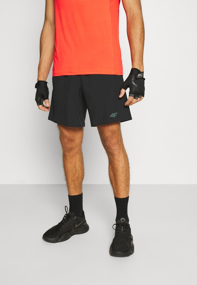 Men's training shorts - Korte sportsbukser - black