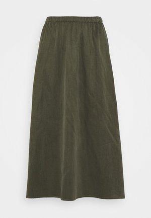 RILBY - A-line skirt - grün