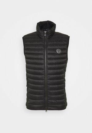 NO DOWN STYLE - Waistcoat - black