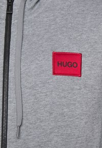 HUGO - DAPLE - Zip-up hoodie - silver - 5
