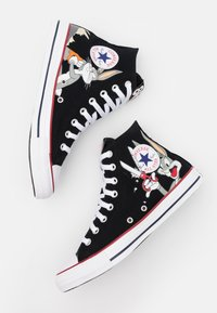 Converse - CHUCK TAYLOR ALL STAR BUGS BUNNY - High-top trainers - black/multicolor - 5