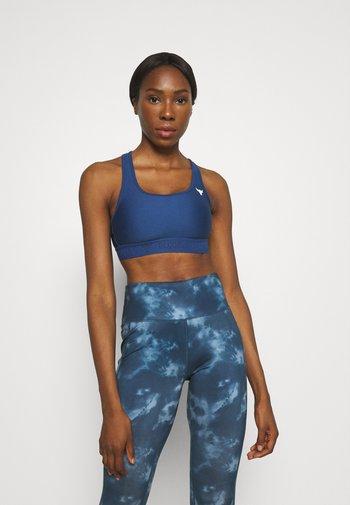 ROCK BRA - Medium support sports bra - blue