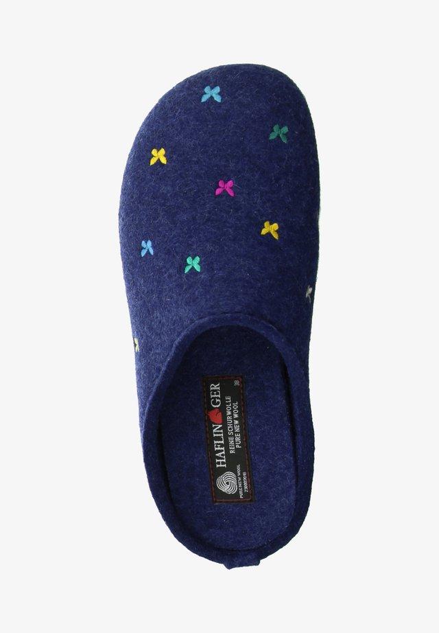Slippers - jeans/blau