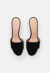 kate spade new york - POLISHED - Pantofle na podpatku - black - 3