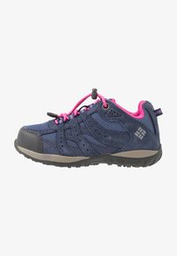 Columbia - CHILDRENS REDMOND WATERPROOF - Hiking shoes - bluebell/pink ice - 1