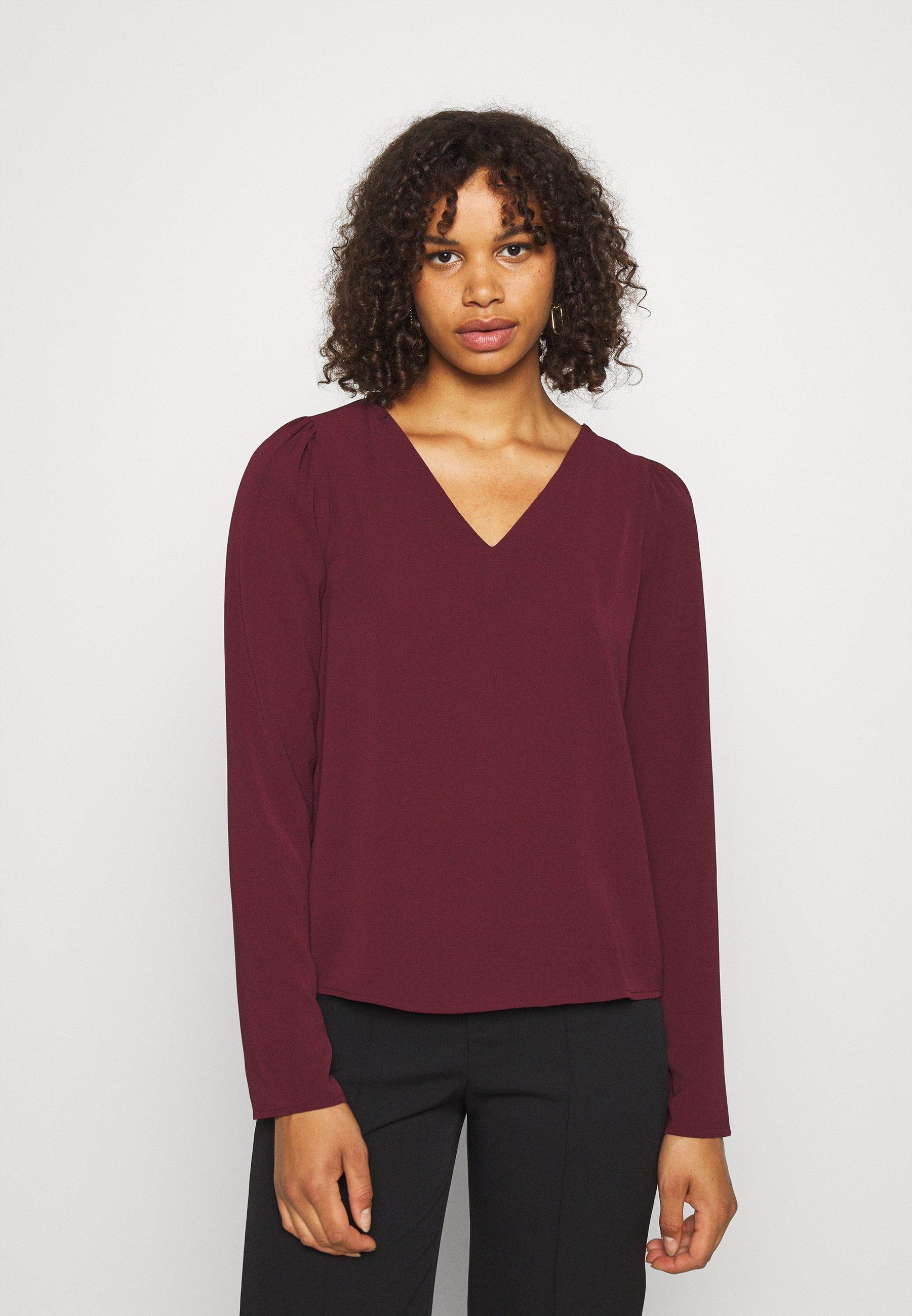 Women VMSAGA V-NECK - Button-down blouse
