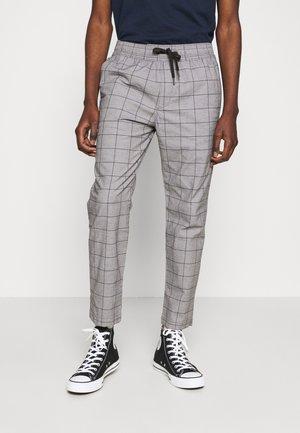 PULLON CROP TAPER - Trousers - dark grey