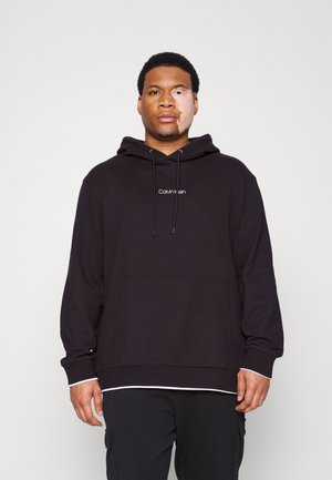 CENTER LOGO HOODIE - Sweatshirt - black