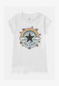 Converse - GAMER GIRL CHUCK PATCH - T-shirt con stampa - white - 0