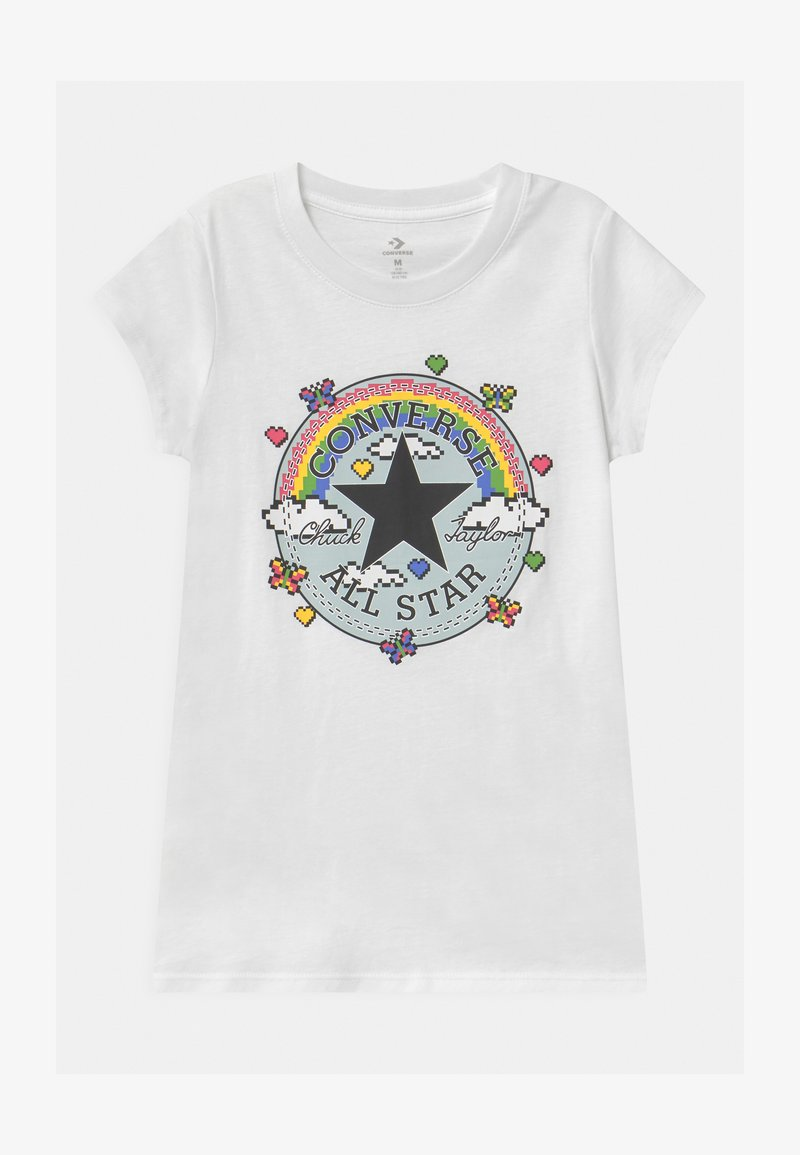 Converse - GAMER GIRL CHUCK PATCH - T-shirt con stampa - white