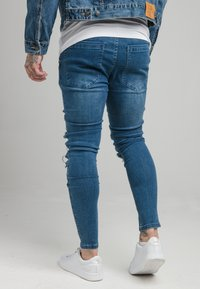 SIKSILK - BIKER - Skinny džíny - blue - 2