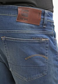 G-Star - 3301 LOOSE - Relaxed fit -farkut - firro denim - 5