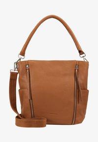 FREDsBRUDER - NEW TRUE - Handbag - dark camel - 5
