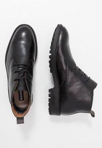 Madden by Steve Madden - KARKON - Volnočasové šněrovací boty - black - 1