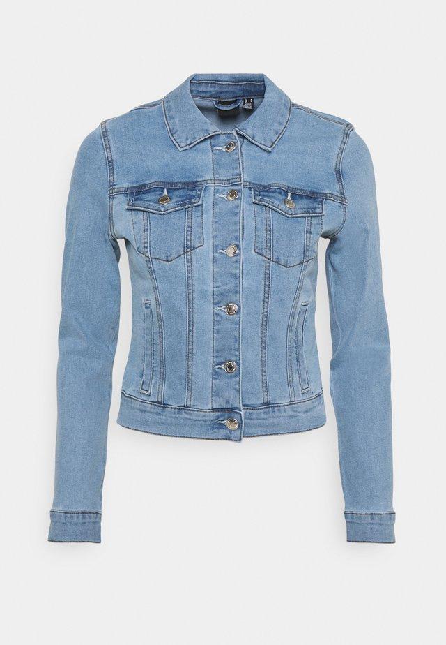 VMHOT SOYA JACKET - Spijkerjas - light blue denim