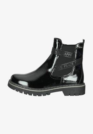 Ankle boot - noir vernis