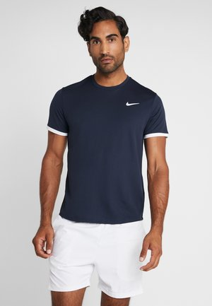 DRY - T-shirts - obsidian/white