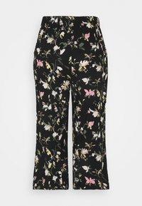 Vero Moda Petite - VMSIMPLY EASY CULOTTE PANT - Shorts - black/oline - 1