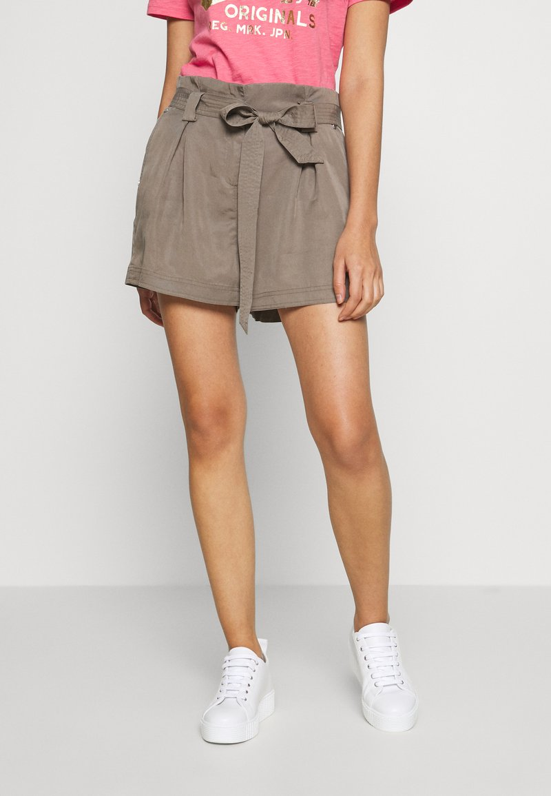 Superdry - DESERT PAPER BAG - Shorts - bungee cord