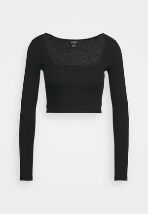 ALBA  - Maglietta a manica lunga - black dark