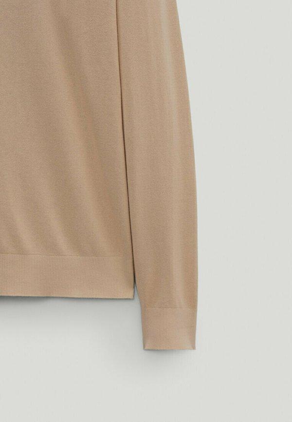 Massimo Dutti Bluza z kapturem - beige/beżowy Odzież Męska QSYX