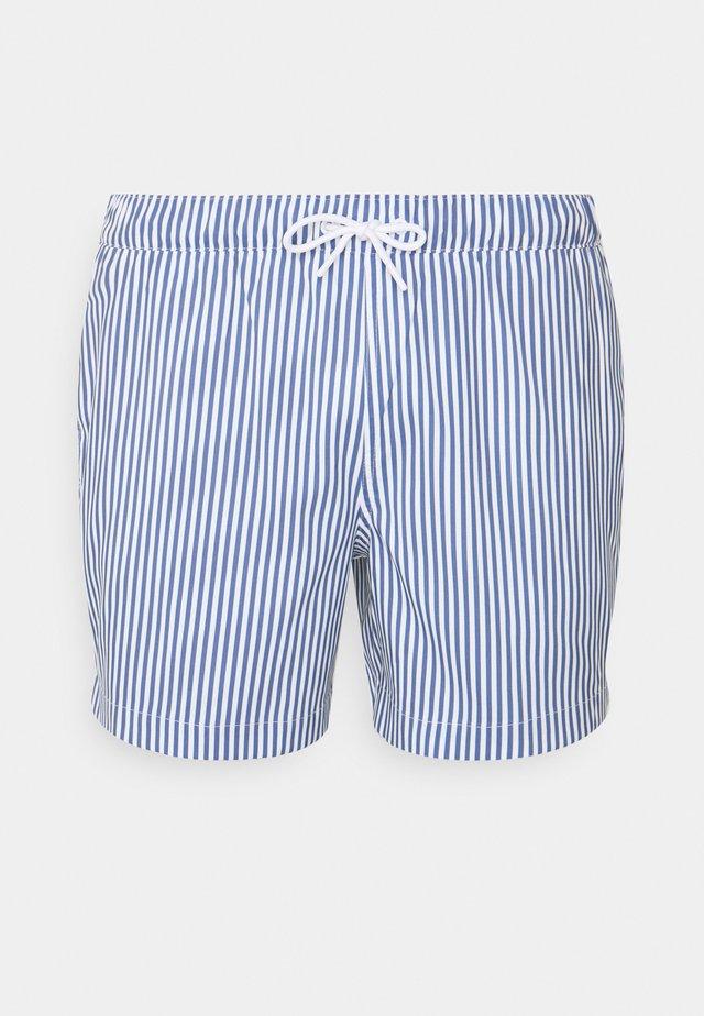 PULL ON STRIPE - Zwemshorts - blue
