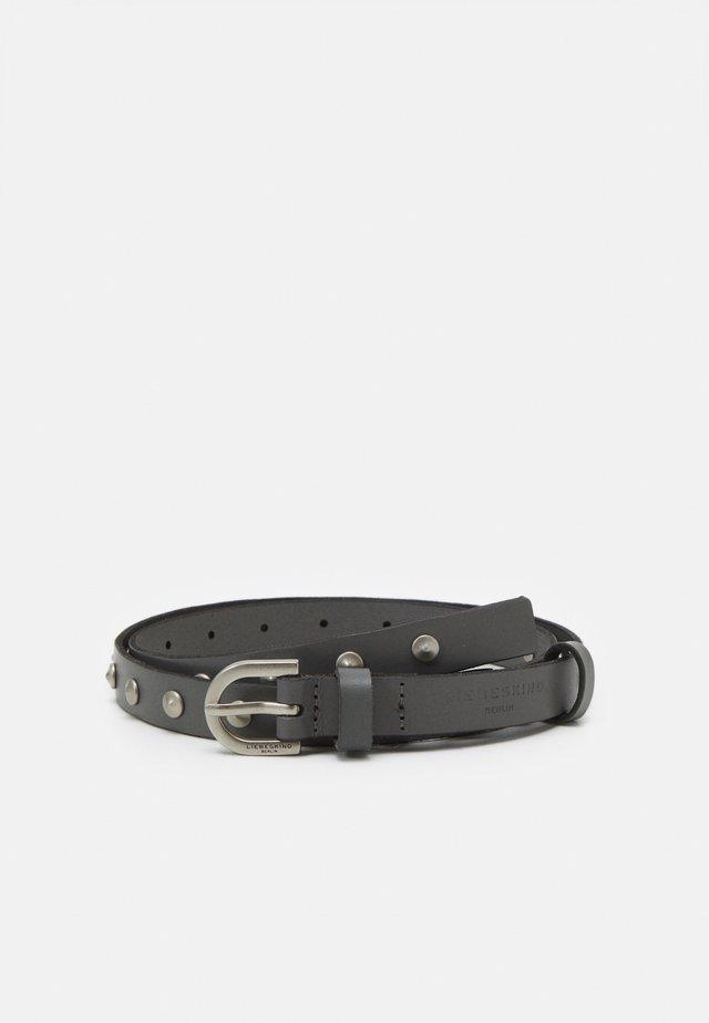 FABELT FARR - Belt - honey grey