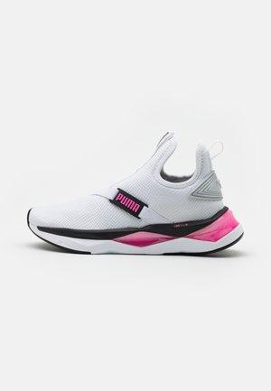 LQDCELL SHATTER MID - Zapatillas de entrenamiento - white/black/luminous pink