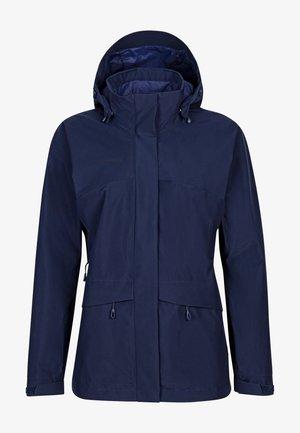 Regenjacke / wasserabweisende Jacke - peacoat