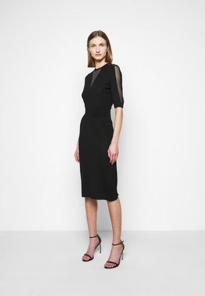 RALLY ABITO INTARSIO  - Jumper dress - black