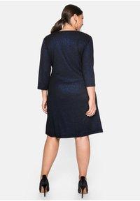 Sheego - Cocktail dress / Party dress - schwarz-blau - 2