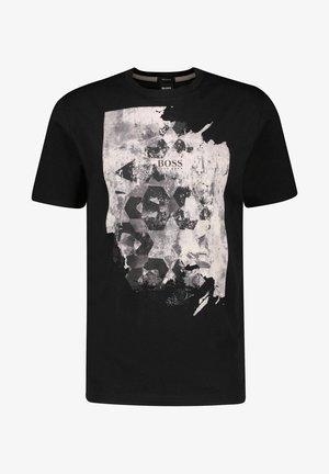"""TSUMMERY"" - Print T-shirt - schwarz"