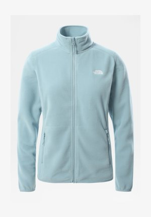W 100 GLACIER FULL ZIP - EU - Giacca in pile - tourmaline blue
