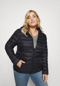 Even&Odd Curvy - Down jacket - black - 0