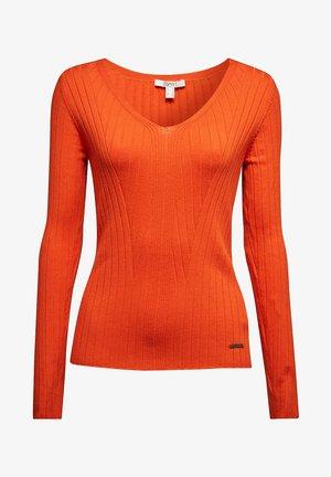 FASHION - Jumper - rust orange