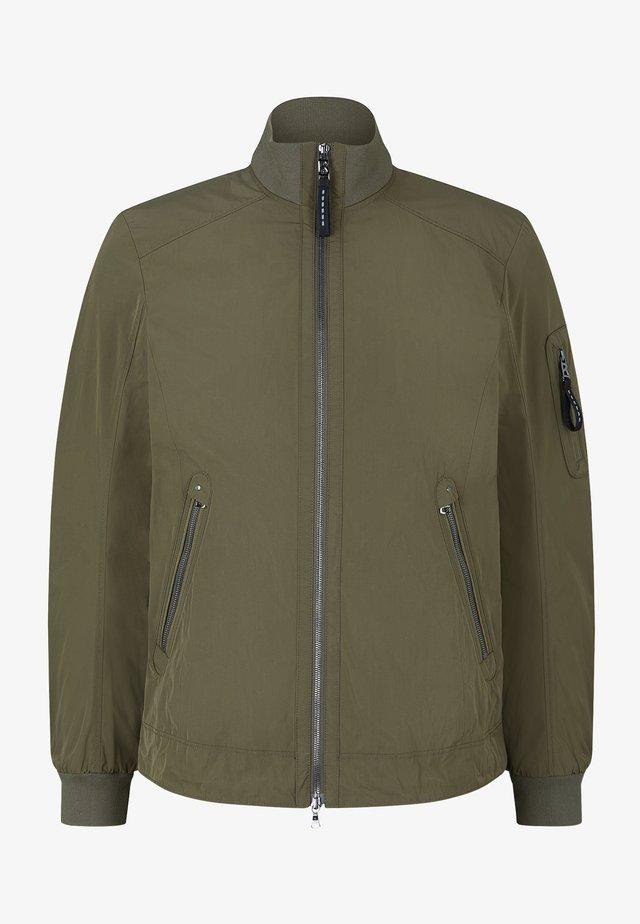 Lehká bunda - oliv-grün