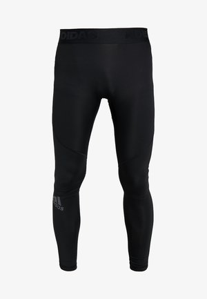 ALPHASKIN - Legginsy - black