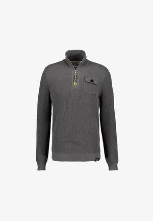 Sweatshirt - rock grey melange