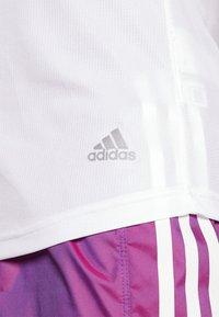 adidas Performance - RUN IT TEE - Basic T-shirt - white - 3