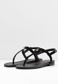 Pretty Ballerinas - ANGELIS - T-bar sandals - black - 4