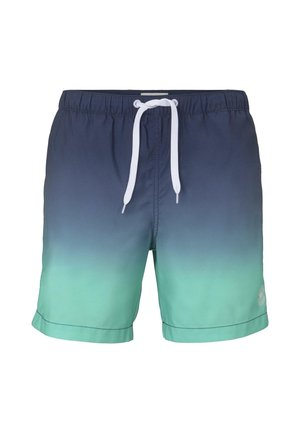 Swimming shorts - green gradient design