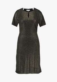 Dorothy Perkins Tall - KEYHOLE FIT AND FLARE - Cocktailkjole - bronze - 3