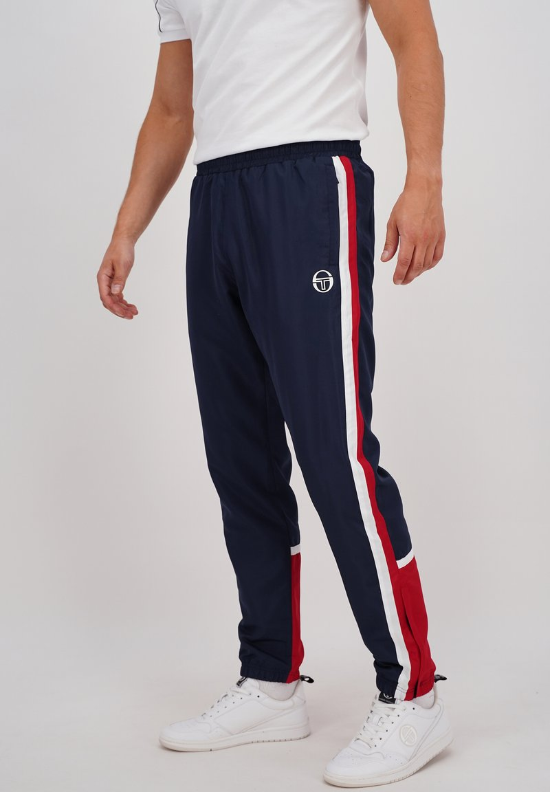 sergio tacchini - BULK - Tracksuit bottoms - nvy/appred