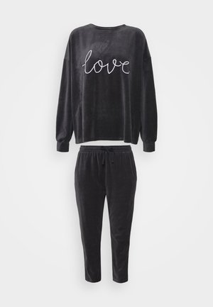 SET - Pyjamas - dark grey